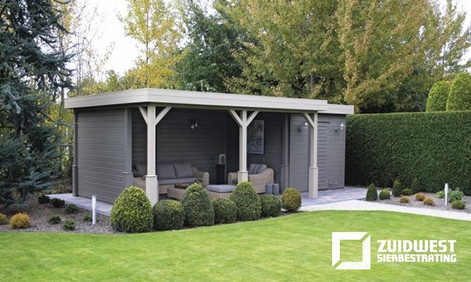 Ons werk ter inspiratie een kleine selectie van onze tuinen - Groen huis model ...